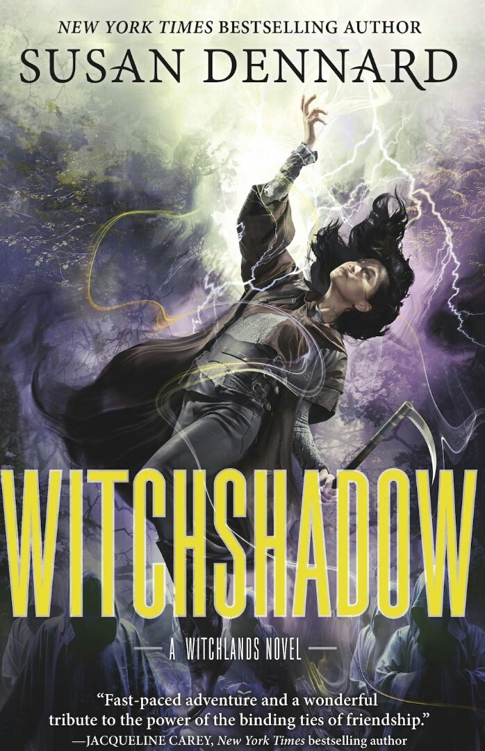 Cover of Witchshadow by Susan Dennard.