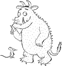 Pinterest The World S Catalog Of Ideas The Gruffalo Colouring Pages